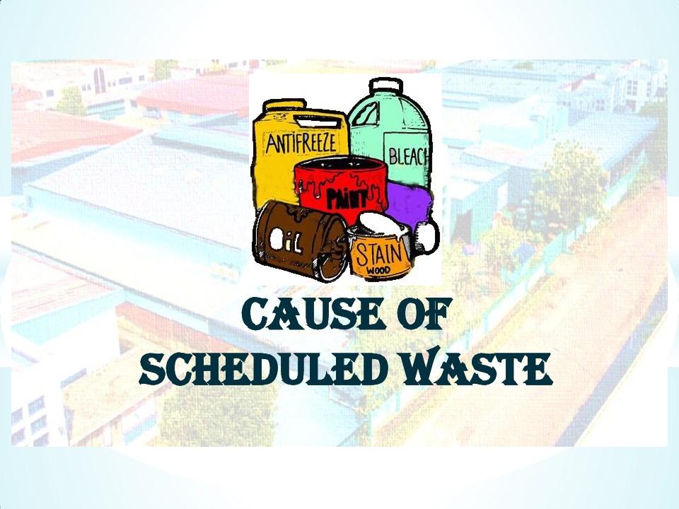 Schedule waste management 1