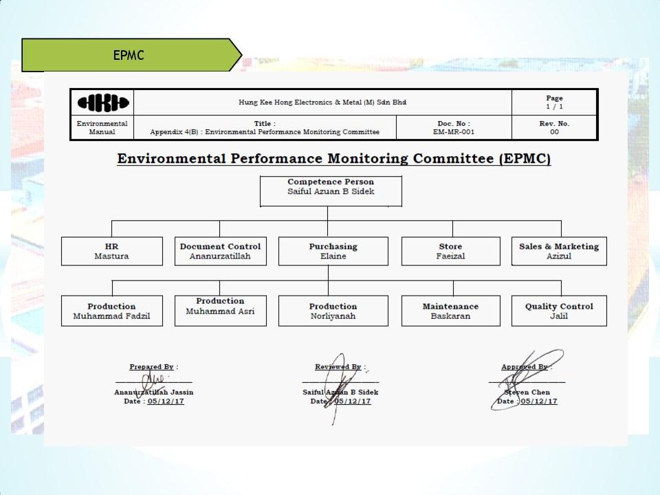 Schedule waste management 16