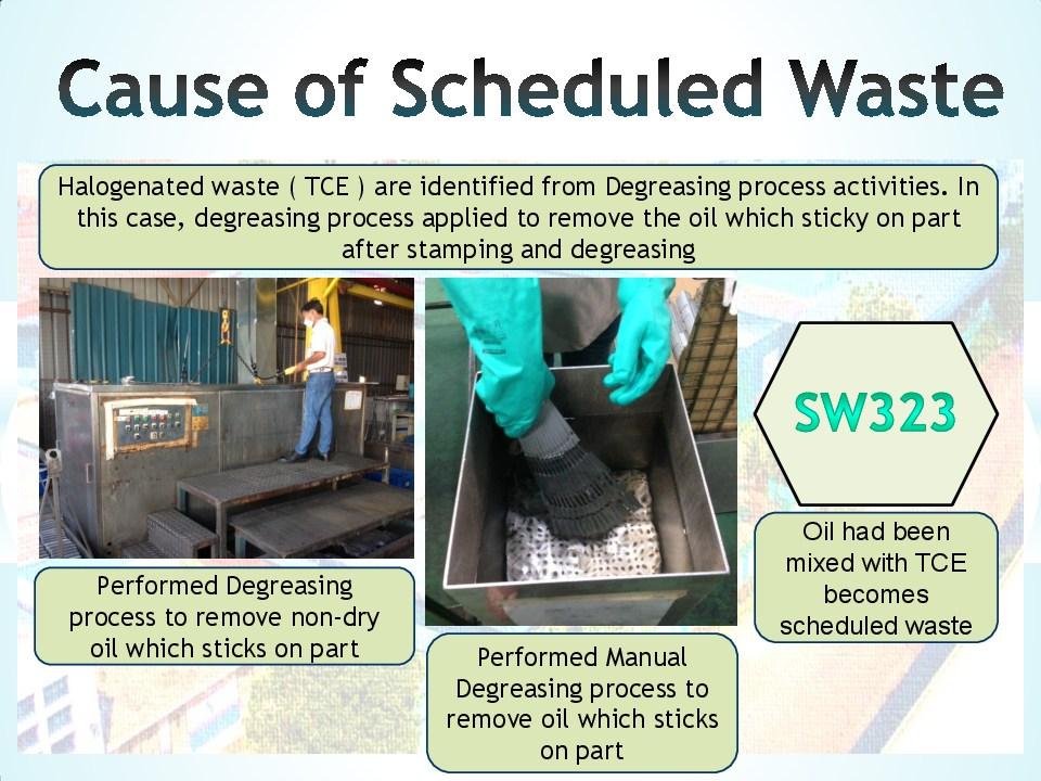 Schedule waste management 2