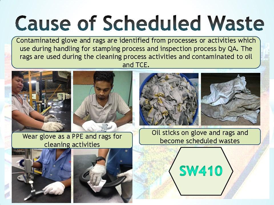 Schedule waste management 3